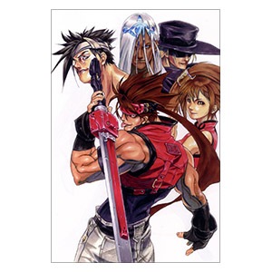 Guilty Gear X. Размер: 20 х 30 см